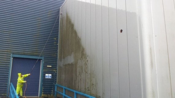 Factory warehouse cleaning cardiff