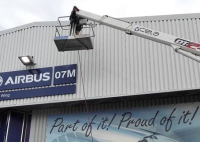 Warehouse Cladding Cleaning