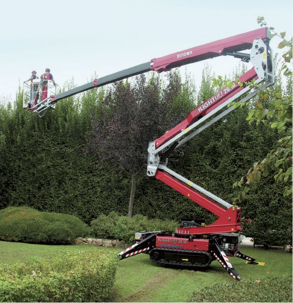 spiderlift hire cardiff
