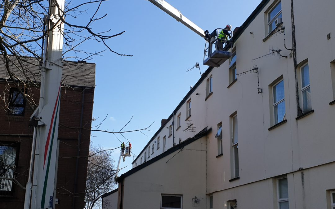 Housing Association Gutter Cleaning