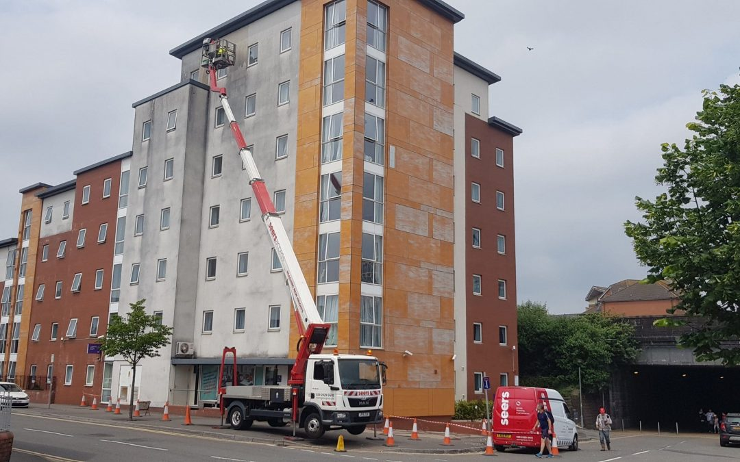 Student Accommodation Render Cleaning
